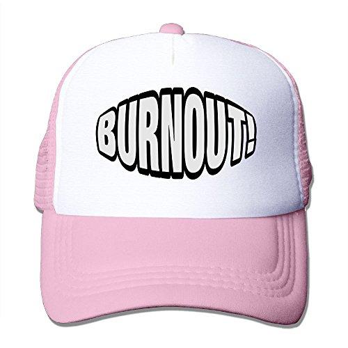 OONONGFU Burnout 1 F2 Big Foam Snapback Caps Mesh Back Adjustable Cap ()