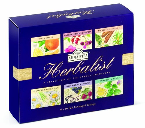 Ahmad Tea Herbalist Teabags, 60 Count