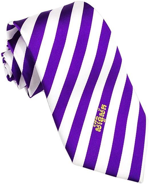 JINGJING Corbata de Rayas diagonales para Hombre La Seda Tejido ...