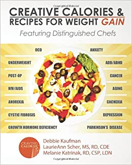 Creative calories and recipes for weight gain featuring creative calories and recipes for weight gain featuring distinguished chefs debbie kaufman laurieann scher ms rd cde melanie katrinak rd csp ldn forumfinder Choice Image