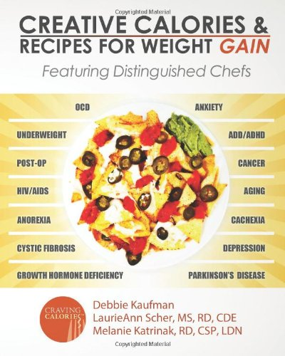 Creative calories and recipes for weight gain featuring creative calories and recipes for weight gain featuring distinguished chefs debbie kaufman laurieann scher ms rd cde melanie katrinak rd csp ldn forumfinder Images