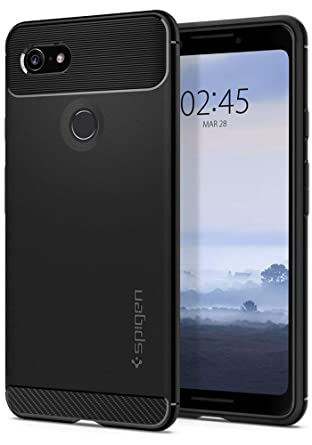 Spigen Rugged Armor Designed For Google Pixel 3 Case (2018)   Black by Spigen