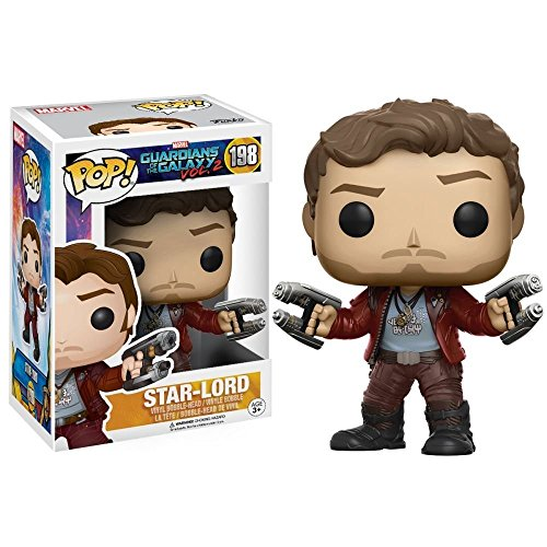 [Funko POP Movies: Guardians of the Galaxy 2 Star Lord Toy Figure,Styles may vary] (Vinyl Rock Star Costumes)