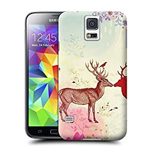 Unique Phone Case Deer-02 Hard Cover for samsung galaxy s5 cases-buythecase