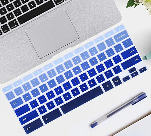 iKammo Keyboard Cover Skin Compatible Samsung Chromebook 11.6(2018/2017 Newest),Samsung Chromebook 3 XE500C13,Samsung Chromebook 2 XE500C12,12.2 Inch Samsung Chromebook Plus V2 2-in-1 XE520QAB(Ombre)