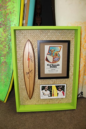 (Gerry Lopez Rory Russell Lightning Bolt Mini Surfboard Rick Griffin)