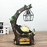 YOURNELO Cute Animals Cartoon Character Marvel Heroes Desk Ornaments Night Light Lamp for Gift (Totoro 4-7)