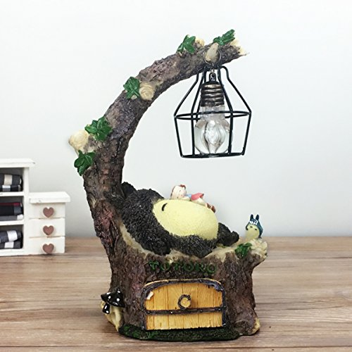 YOURNELO Cute Animals Cartoon Character Marvel Heroes Desk Ornaments Night Light Lamp for Gift (Totoro 4-7) by YOURNELO