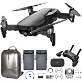 quad copter controller - DJI Mavic Air Quadcopter with Remote Controller - Max Flight Bundle with Spare Battery, and Custom Mavic Air Hard Shell Back Pack (Onyx Black)
