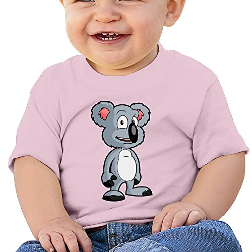 Lennakay Work Baby Girl's Koala Round Collar Casual