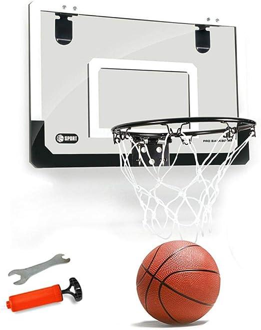 Tawcal Canasta Baloncesto Tablero,18x12 Pulgadas Aro de Baloncesto ...