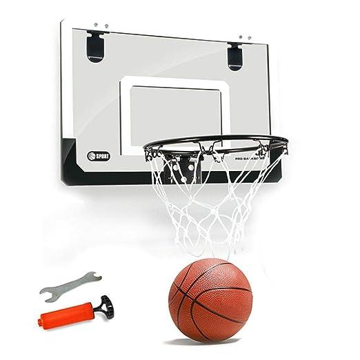 Tawcal Canasta Baloncesto Tablero,18x12 Pulgadas Aro de ...