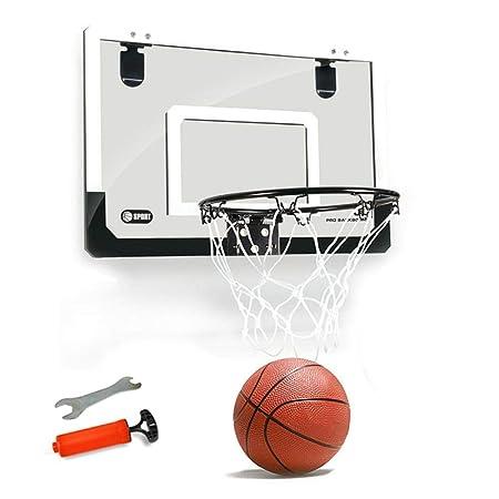 Hamkaw Mini aro de Baloncesto - Aro Interior Balones y Bomba ...