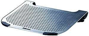 """Fellowes Ventilador Removible - Soporte para portátil de aluminio con ventilador removible de hasta 15"""", metálico"""