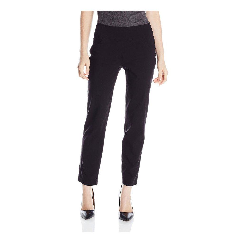 Ruby Rd. Women's Plus-Size Plus Pull-On Solar Millennium Super Stretch Pant, Black, 20W