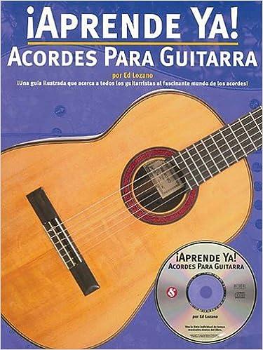 Acordes Para Guitarra (0752187978534): Ed Lozano: Books