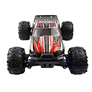 RC Car 4WD Racing 1/18 Scale Remote Control Trucks Offroad Electric Fast RC Cars 26+MPH(Red)Best Gift for Kids