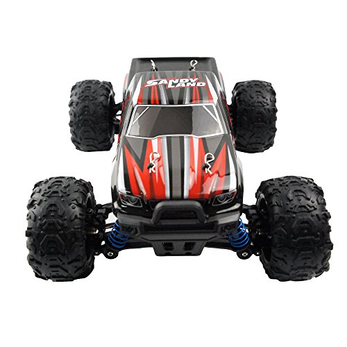 18 Scale Remote Control Trucks Offroad Electric Fast RC Cars 26+MPH(Red)Best Gift for Kids (10 Electric Rc Car)