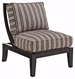 Ashley Furniture Signature Design – Mykla Accent Chair – Contemporary Style Side Chair – Shitake Brown