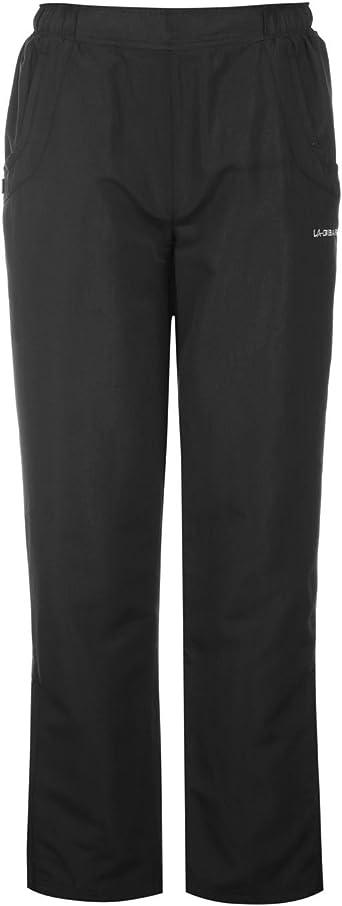 LA Gear Hem Jogging Pants Ladies Fleece Bottoms Trousers Lightweight Drawstring