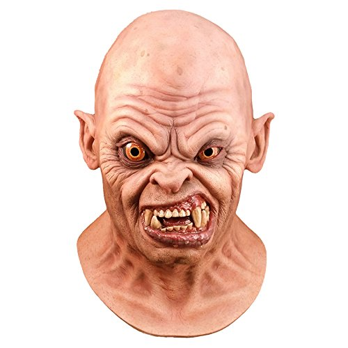 Trick Or Treat Studios Men's an American Werewolf in London-Bald Demon Mask, Multi, One Size for $<!--$38.61-->