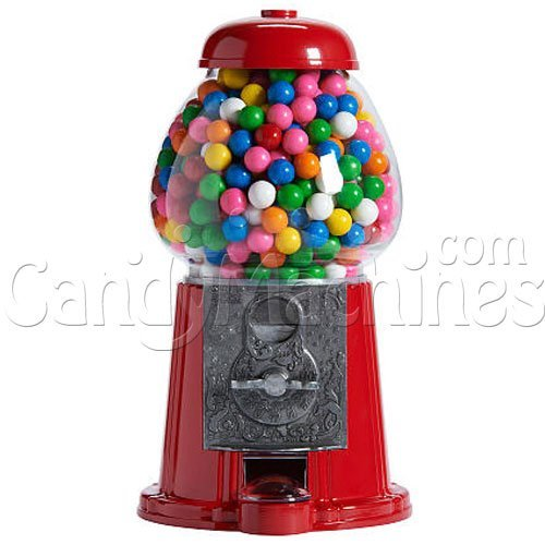 Gum Bubble Dispenser - Medium Gumball Bank, 12