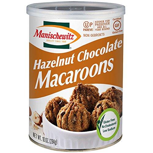 Hazelnut Chocolate Macaroons, Kosher for Passover,10 Ounces by Manischewitz