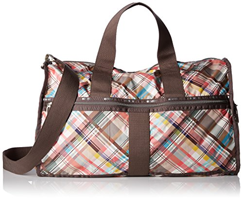 LeSportsac Women's Essential Large Weekender, Resort Madras C by LeSportsac