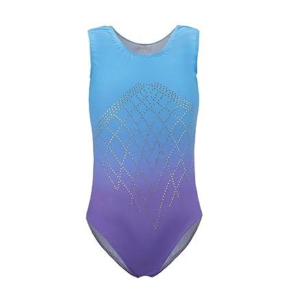 e56e02192c55 Amazon.com  Wingbind Gymnastic Leotards for Girls