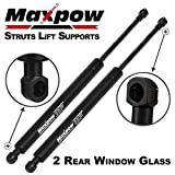 2001 bmw x5 rear shocks - Maxpow Rear Glass Window Lift Support Strut for BMW X5 2000 To 2006 6616 SG302006, Pack of 2