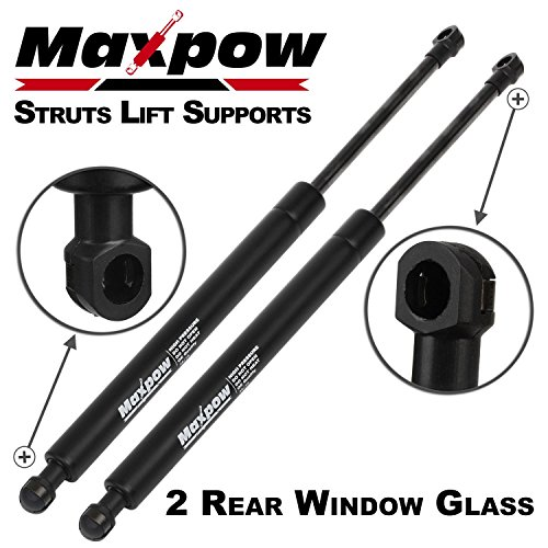 Maxpow 2pcs 6614 Compatible With Land Rover LR3 2005 2006 2007 2008 2009 2010 2011 2012 2013 Rear Window Glass Struts Lift Support