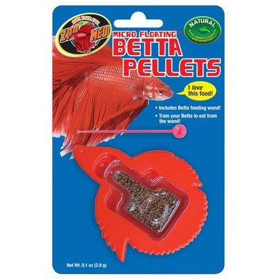 - Zoo Med Micro Floating Bettas Food Pellets [Set of 5]