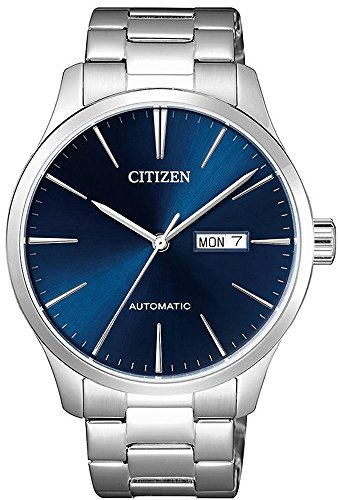 Citizen Classic Automatic Blue Sunray Dial Steel Watch NH8350-83L Citizen Blue Dial