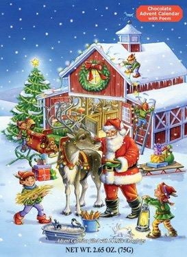 christmas chocolate calendar - 8