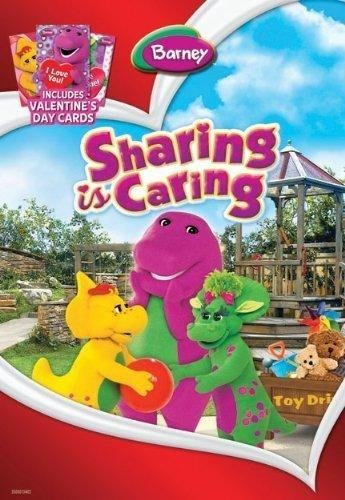 BARNEY Sharing Is Caring (With 3 Valentine's Day Cards)