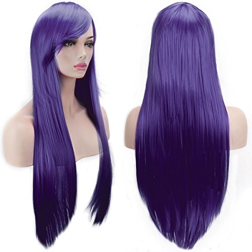 Purple Long Wig (AKStore Wigs 32