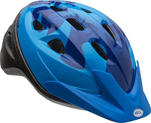 Elements Helmet (Bell Rally Child Helmet, Blue Fins)