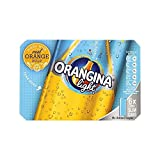 Orangina Light Sparkling Fruit Drink 6 x 330ml (Pack of 2)