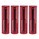 Best 18650 Battery Button Tops - 3000 mah BRC Button Top Rechargeable Battery Review