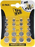 JCB Watch Battery (Standard Assortment) AG1 AG3 AG4 AG12 & AG13 Button Cells (20 cells)