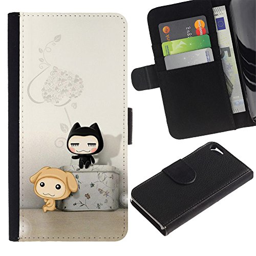 OMEGA Case / Apple Iphone 5 / 5S / PRAY FOR YOUR FRIENDS TODAY / Cuir PU Portefeuille Coverture Shell Armure Coque Coq Cas Etui Housse Case Cover Wallet Credit Card