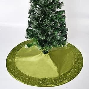 Gireshome - Falda para árbol de Navidad con Lentejuelas Brillantes ...