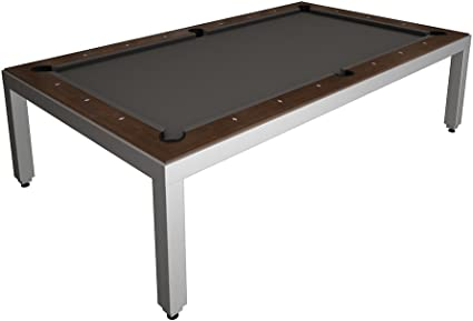 Amazon Com Fusion Pool Table And Dining Table Convertible Pool Table Sports Outdoors