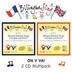 "*As seen in Huffington Post 2017**2016 Award-Winner in PRIMARY TEACHER UPDATE magazine* ""Ever since my purchase of the BilinguaSing CDs (recommended by a friend), my 9 year-old son, his little brother & I listen to them & sing along a..."