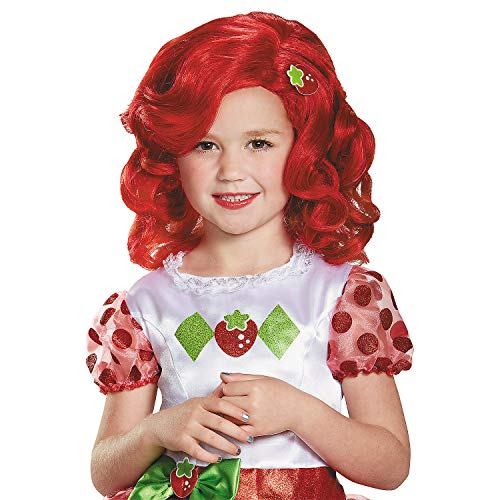 Fun Express - Strawberry Shortcake Child Wig for Halloween - Apparel Accessories - Costume Accessories - Wigs & Beards - Halloween - 1 -
