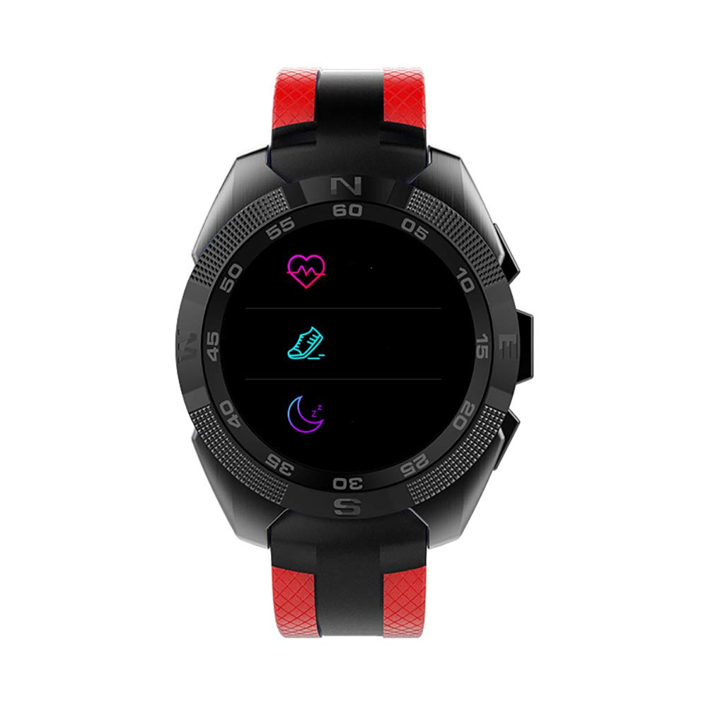 SPORS Multi-Function Smart Bracelet, Multi-Sports Mode Bluetooth Bracelet, Monitor Heart Rate and Blood Pressure, Remind The Bracelet-red by SPORS