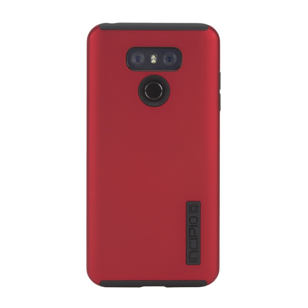 cheap for discount b09e9 b4225 Incipio DualPro Dual Layer Case for LG G6 (Iridescent Red/Black -  LGE-342-RBK)