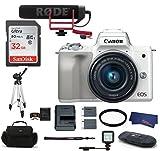 Canon EOS M50 Digital Camera (15-45mm Video Creator Kit + LED Light, White) Review
