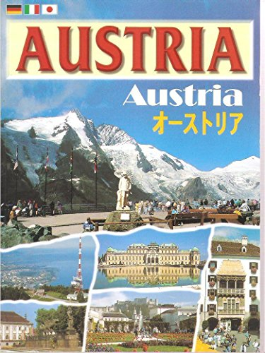 AUSTRIA Travel Guide Book: German and Japanese Languages