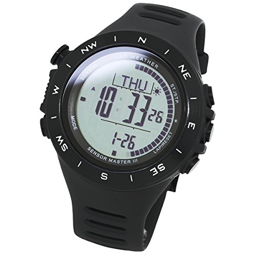 [LAD WEATHER] Extremely Multi-functional Watch Altimeter Weather Forecast distance/ speed/ steps/ (Peak Compass Watch)
